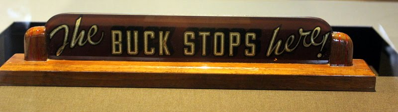 The Buck Stops Here Desk Sign Design Ideas